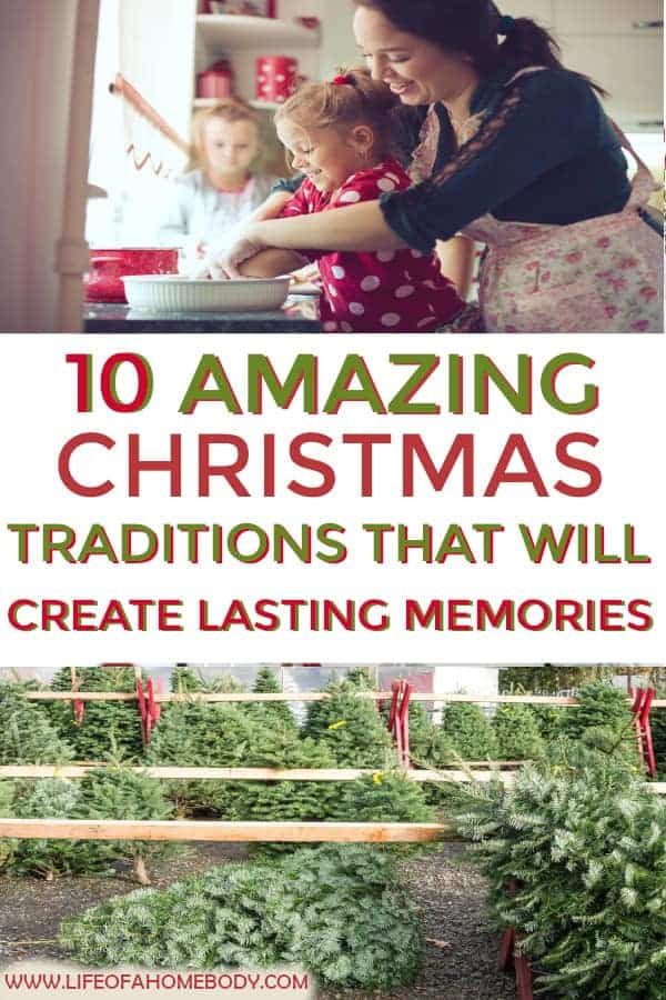 10 Amazing Christmas Traditions You will enjoy with your family! #christmastraditions #christmasmemories