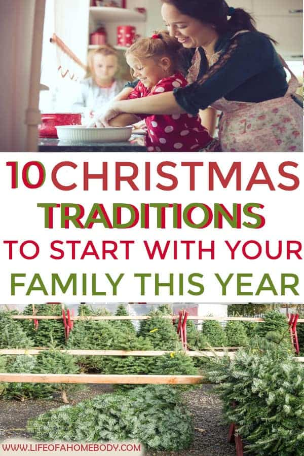 Looking for fun new family Christmas traditions? This is a great list to start this year! #christmastraditions #christmas #christmasmemories