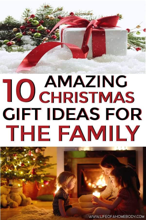 List of Christmas Gift Ideas for the family! #christmasgifts #familygifts #christmas #gifts #family