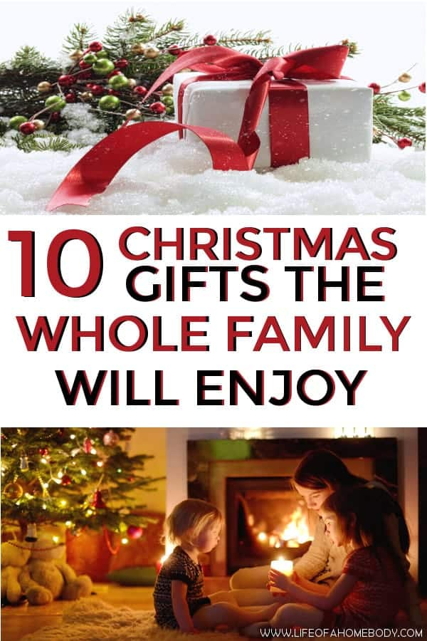 Christmas Gifts the Whole Family will Enjoy! #christmas #christmasgifts #familygifts