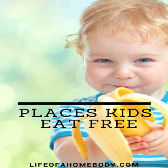 Places Kids Can Eat for Free