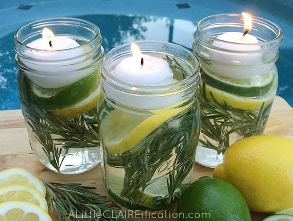 Ways to use mason jars