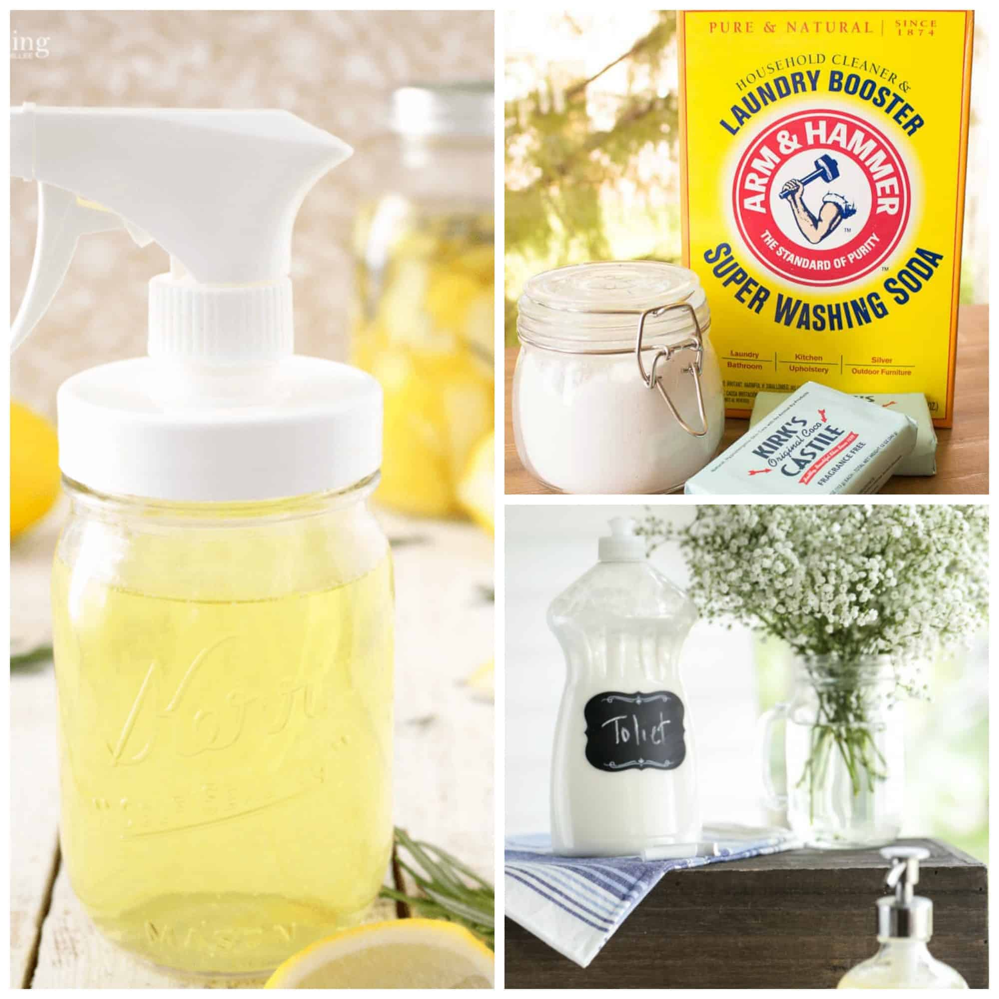 12 Natural DIY Cleaning Recipes Everyone Should Know ...