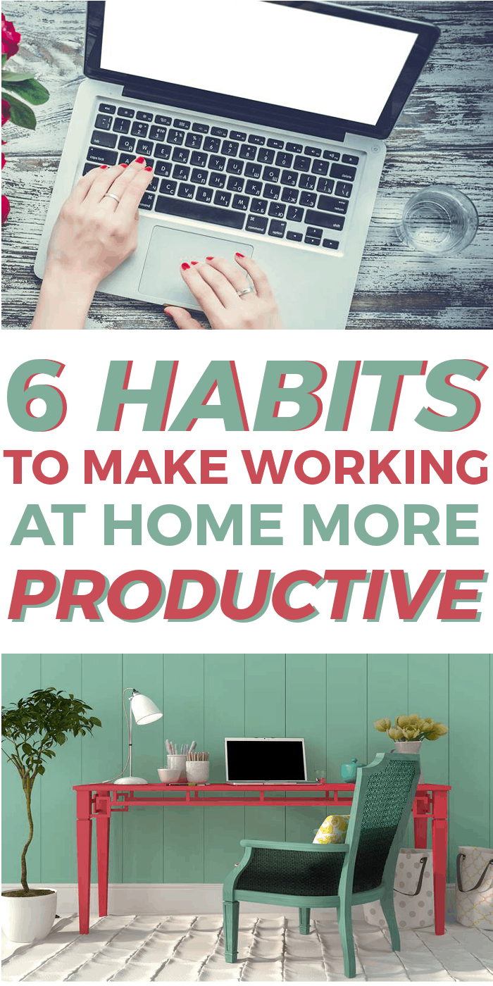 How to make work at home more productive