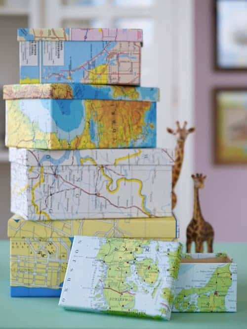 10 Brilliant Ways to Decorate with Maps