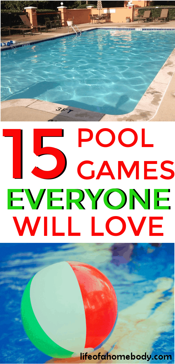 15 Fun Pool Games For Kids Everyone Will Love