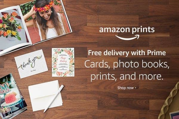 Amazon Prints is Worth the Try! 1,000 of Gift Cards to be Won