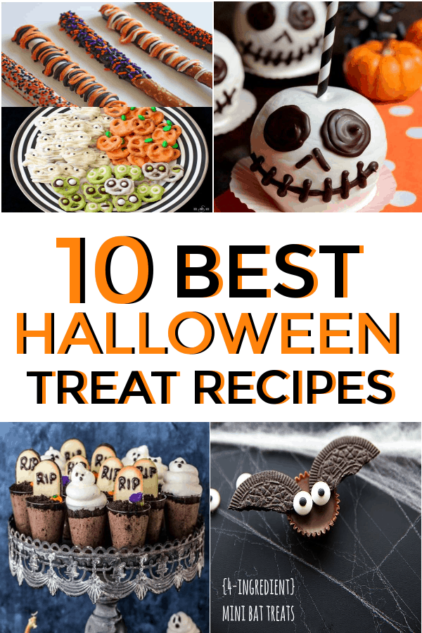 Halloween treats for all ages! Great for halloween parties! #halloweentreats #halloween #halloweendesserts