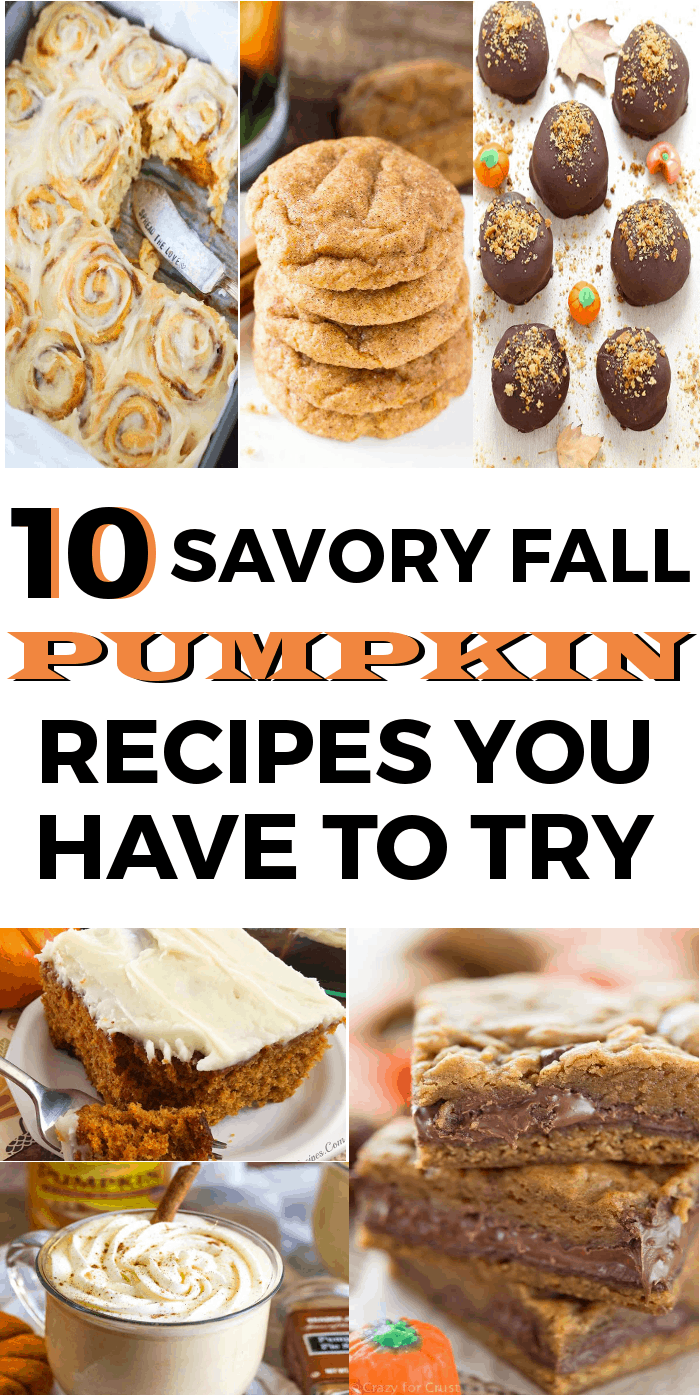 If you love pumpkin recipes, this post has some wonderful pumpkin recipes in it you won't want to miss!