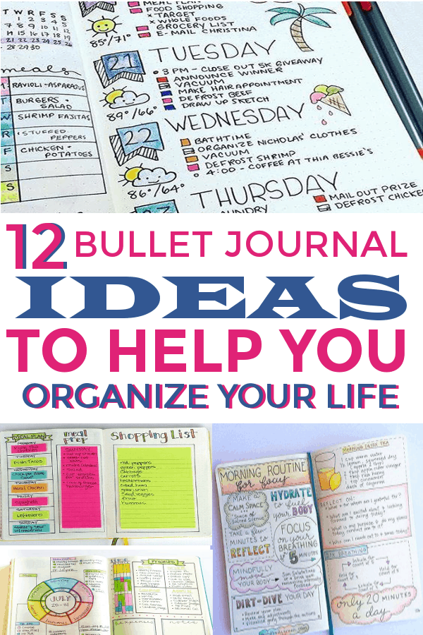 Bullet journal ideas to help you organize your life!#bulletjournallayouts #bujohabittrackers #habittrackers #spreads #layouts #bujolove #bujospreads #bujolayouts