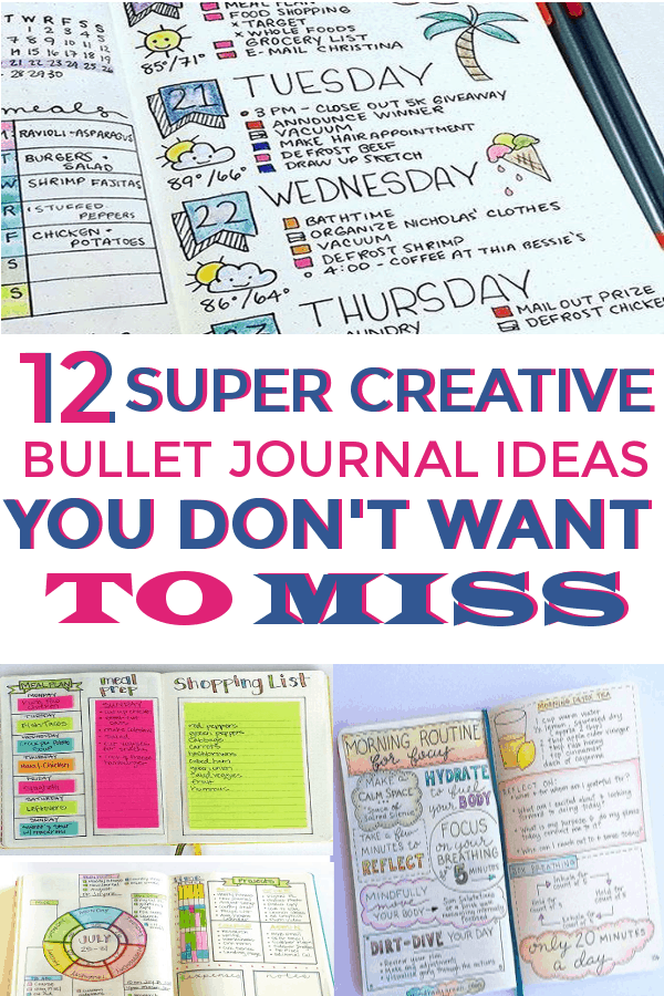 Bullet Journal Spreads you don't want to miss! Bullet Journal layouts to help you get organized. #bulletjournal #bujo #bulletjournalspreads #bulletjournallayouts #bujohabittrackers #habittrackers #spreads #layouts #bujolove #bujospreads #bujolayouts