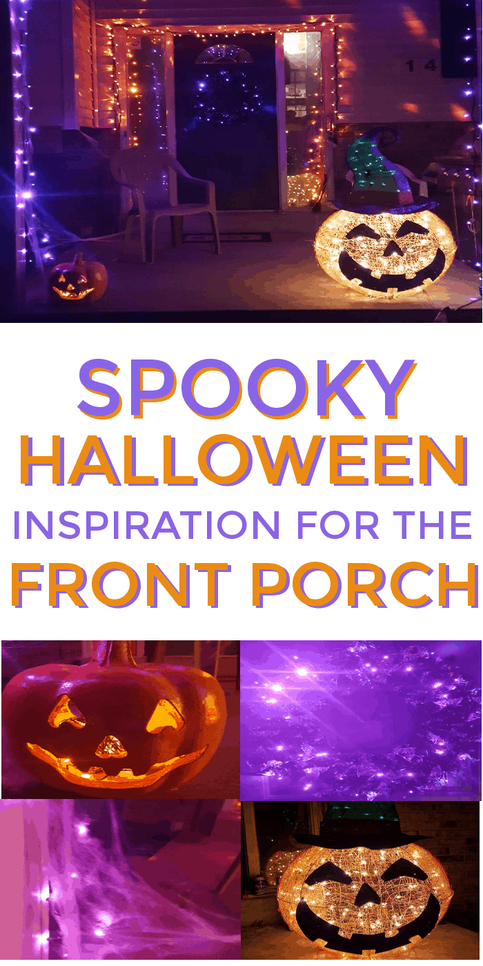 Spooky #Halloween Inspiration for the front porch … #LowesFallDecor #IC #ad