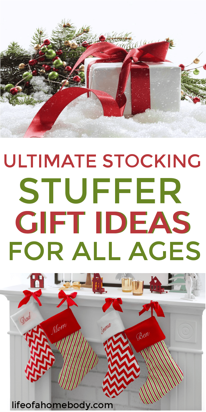 Stocking Stuffer Ideas for babies, kids, teens, men and women Gift ideas | stocking stuffer ideas #stockings #gifts