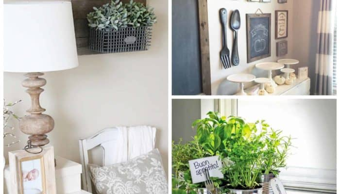 12 Farmhouse Decor Ideas Anyone can do on a Budget