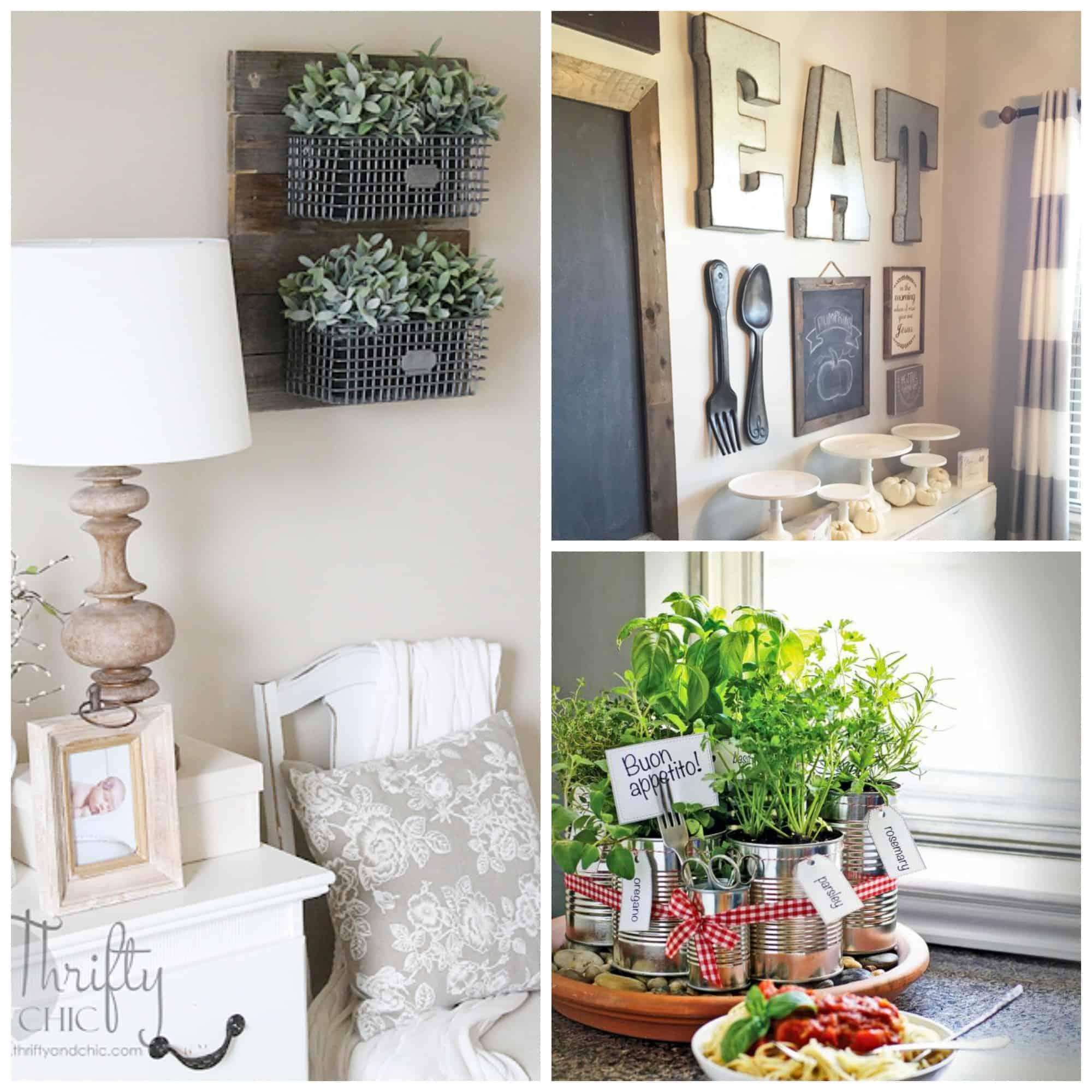Home Design Ideas Budget: 12 Farmhouse Decor Ideas Anyone Can Do On A Budget