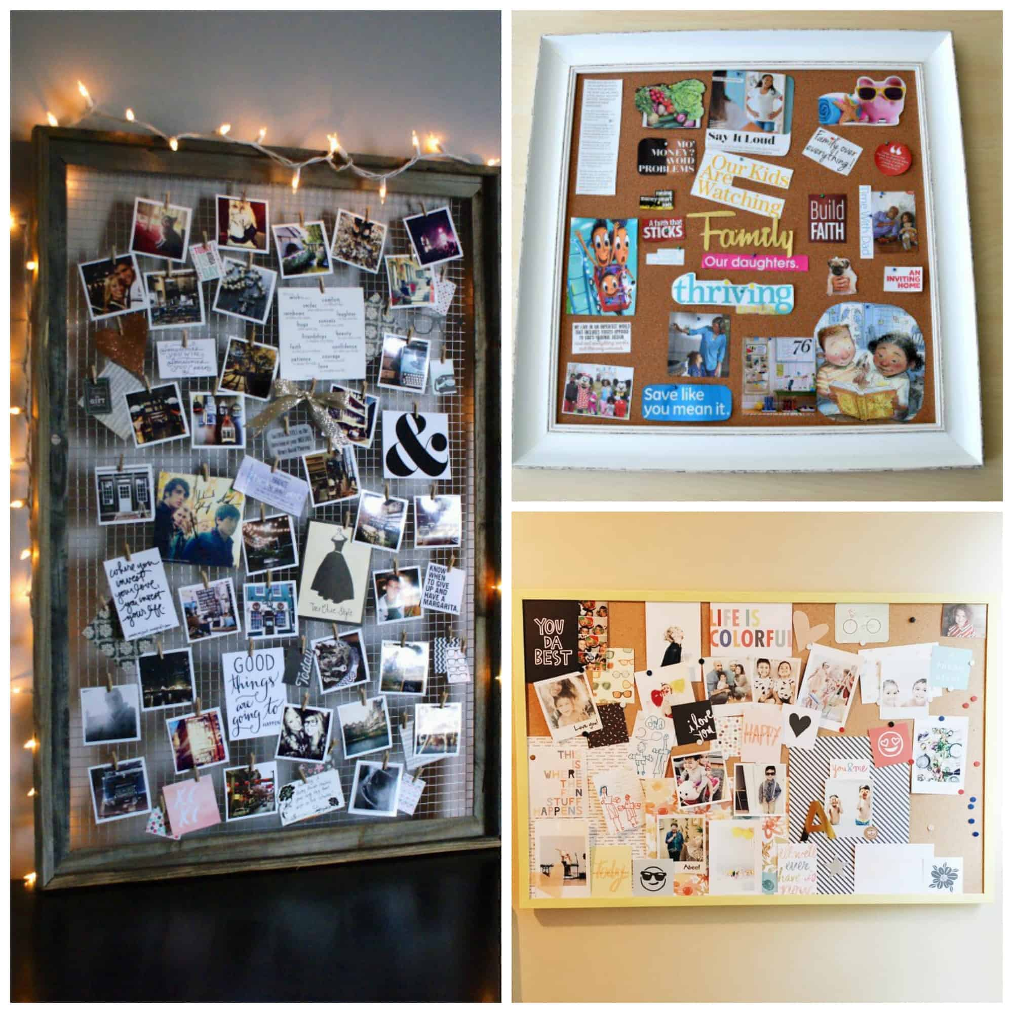 10 diy vision board ideas that will inspire you to do great things this is exactly what i wanted amazing diy vision board ideas great ideas for solutioingenieria Image collections