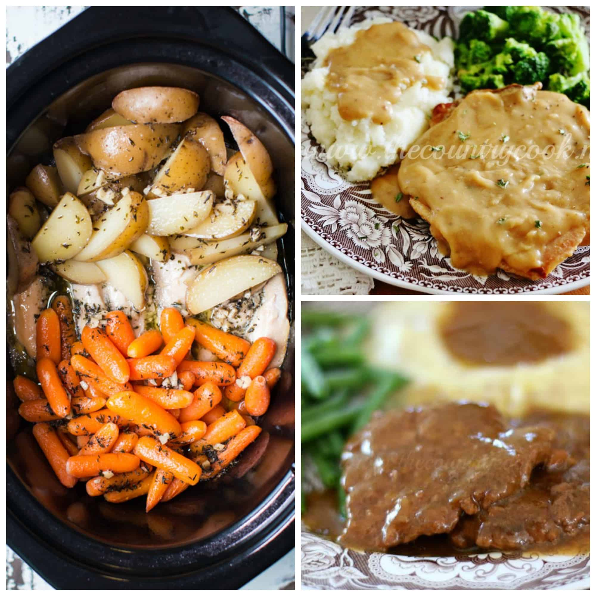 These 15 Slow Cooker recipes are THE BEST! I'm so happy I found these GREAT slow cooker recipes! Now I have some healthy dinner recipes to try tonight! I've been wanting to try some new slow cooker recipes and these look perfect to try! So pinning these slow cooking recipes for sure!