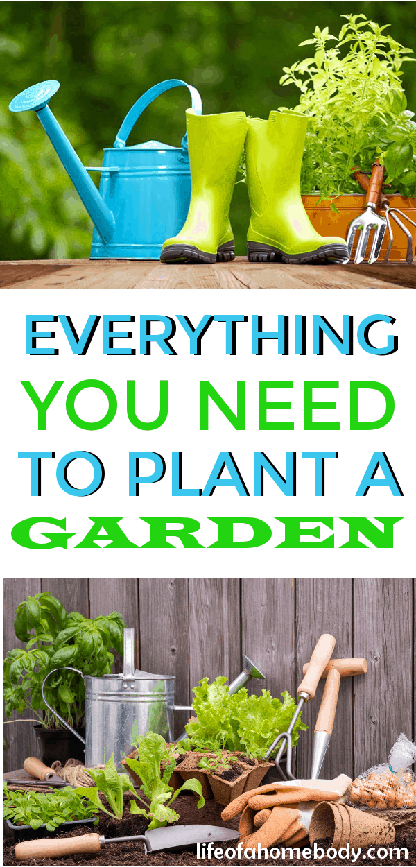 Love these garden tool suggestions! Just what I was looking for to start my garden! #gardentools #garden #gardening #flowergarden #vegetablegarden #herbgarden