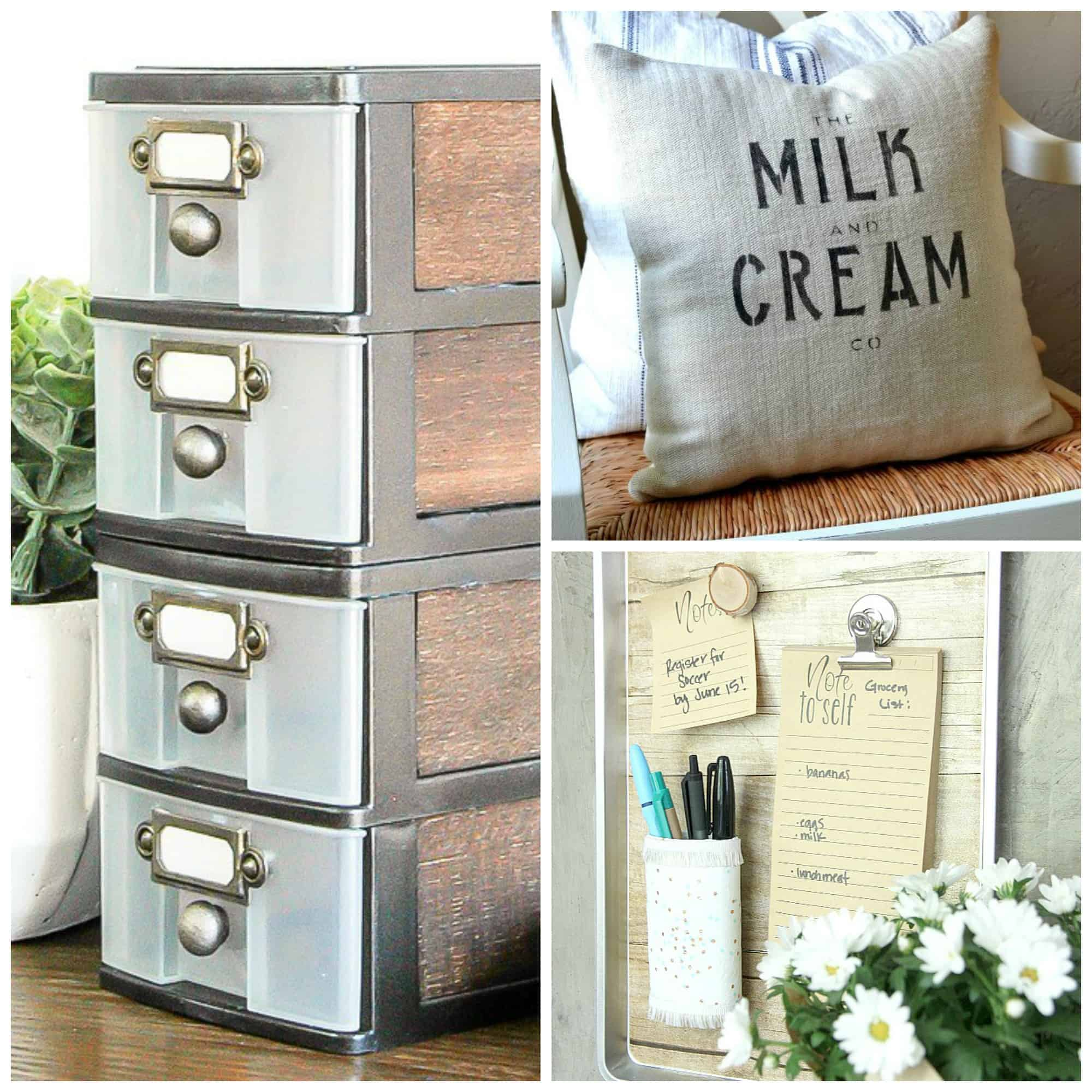 12 Dollar Store Farmhouse Decor Hacks That Are Easy And