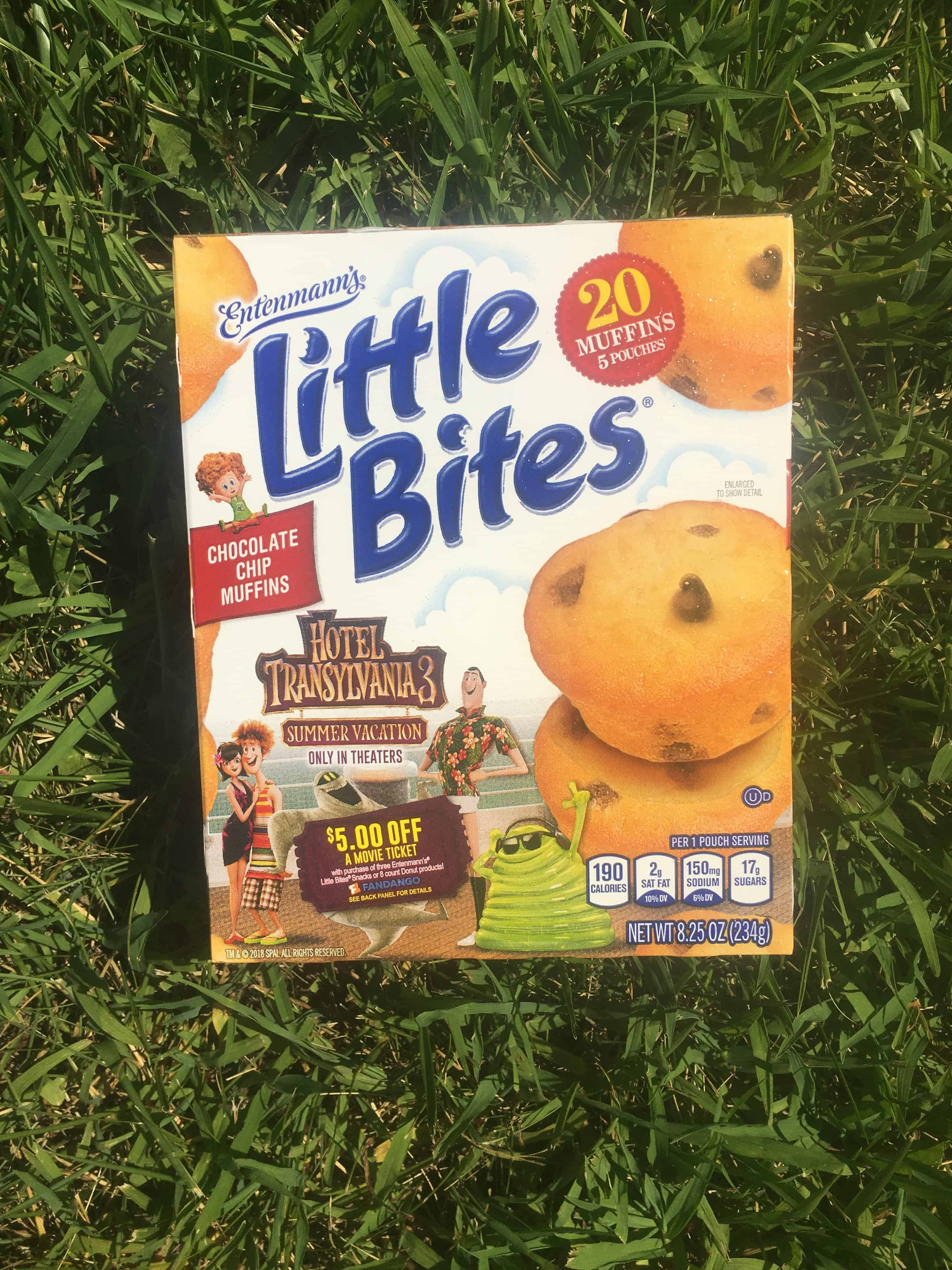 Little Bites Hotel Transylvania 3 Giveaway includes $25 Visa digital gift card and (3) coupons for $7.00 off the purchase of any Entenmann's® products