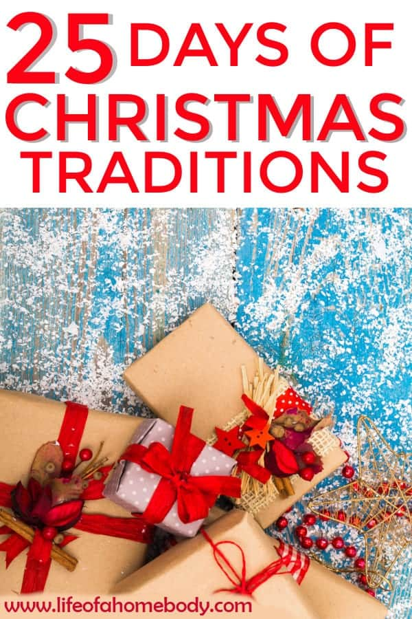 25 Christmas Tradition to do this year!  This is the perfect Christmas Bucket List!  #christmasbucketlist #christmastraditions #christmas