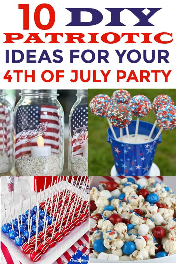 Patriotic ideas for your 4th of July Party Ideas! #4thofjuly #patrioticparties