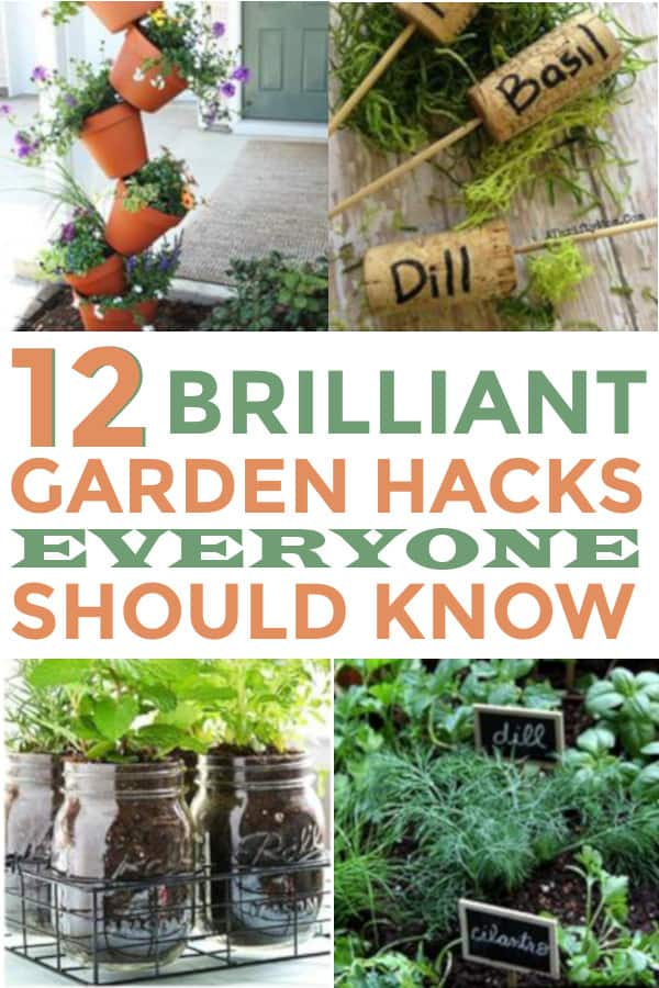 I love all of these gardening ideas! They are great garden hacks for the one who loves to garden! Will be pinning! #gardenhacks #gardening #gardeningideas #lovegardening #gardens