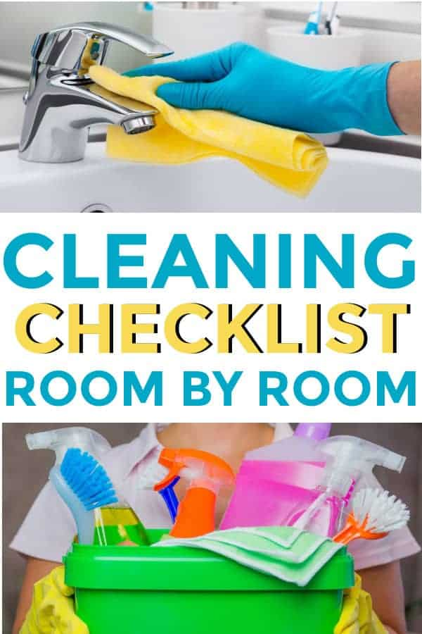 I love these Tips for how for deep #cleaning your house . This help you clean room by room the whole house. Will be pinning! #springcleaning #diycleaning #cleaninghacks #cleaning