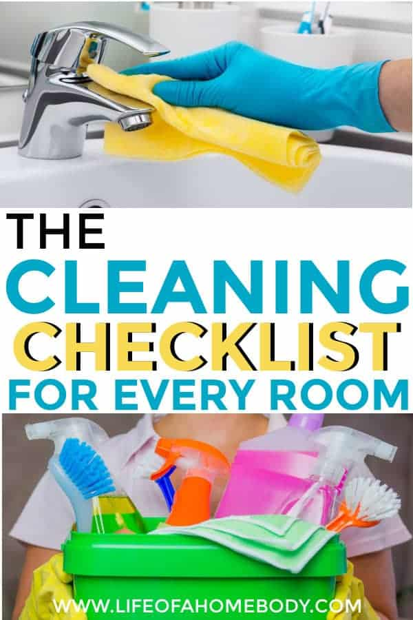 Simple Spring Cleaning Checklist Room by Room! #springcleaning #cleaningchecklist #cleaninghacks #cleaning