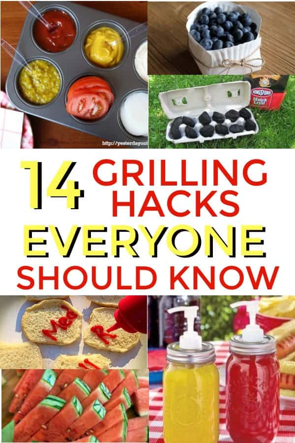 I love to grill, this post has some amazing grilling tricks and tips I never even thought of before. #grilling #grillinghacks #grillingtips