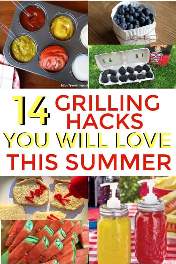 DIY Grilling tips and hacks to make your grill out easier. #grilling #barbecue #grillout #summer
