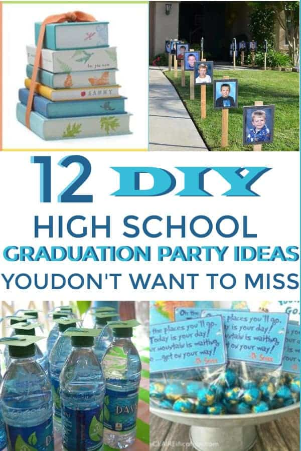 Things to do at a high school graduation, great party ideas! #graduationpartyideas #graduation #graduationideas #graduationparty