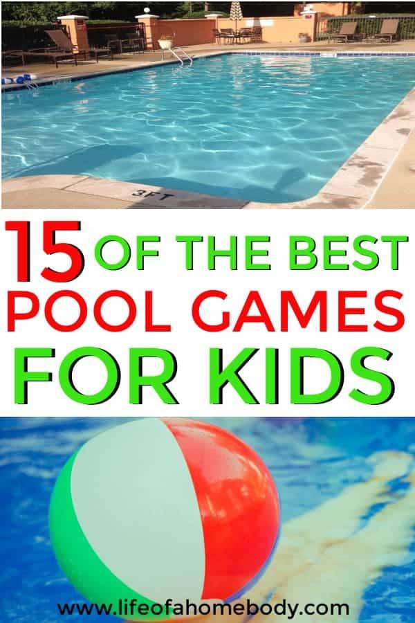 Pool Games for kids, summer fun! #poolgames #summer #summerfun #swimmingpool #poolgamesforkids