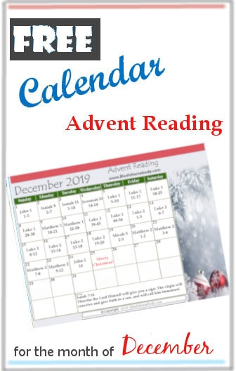 Advent scripture reading 2019 #advent #adventscripturecalendar #adventcalendar2019 #adventcalendar