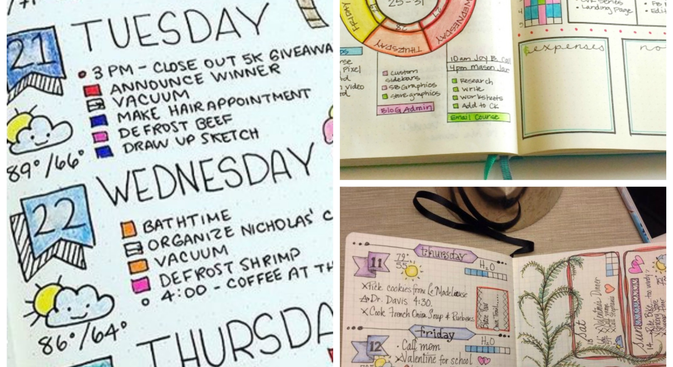 12 Bullet Journaling Ideas that Will Inspire Your Life