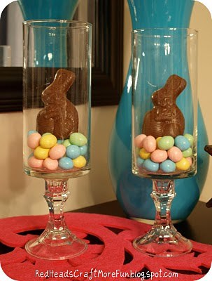 Bunny Jar (Easter Decor)