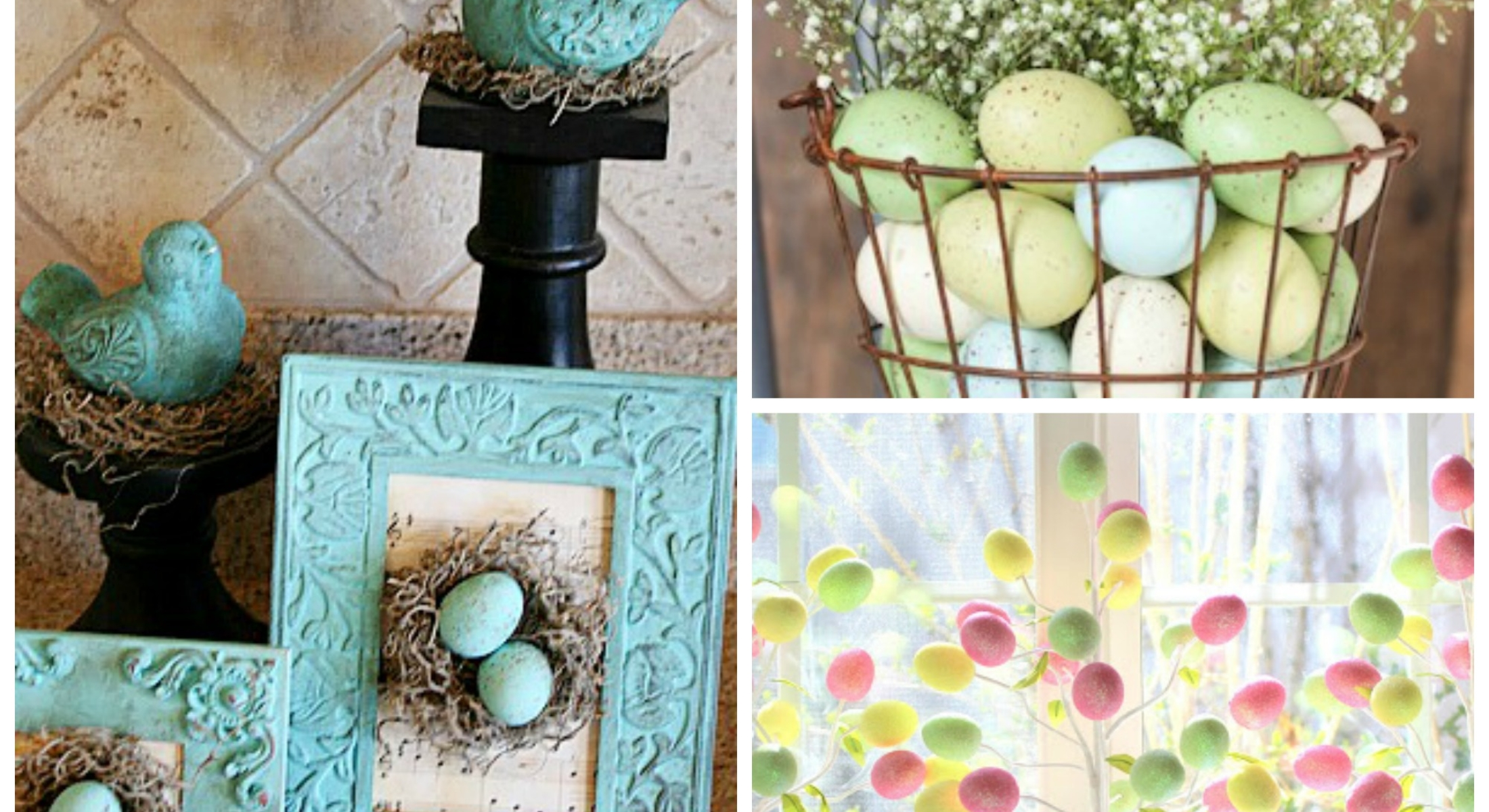 easter decor Collage