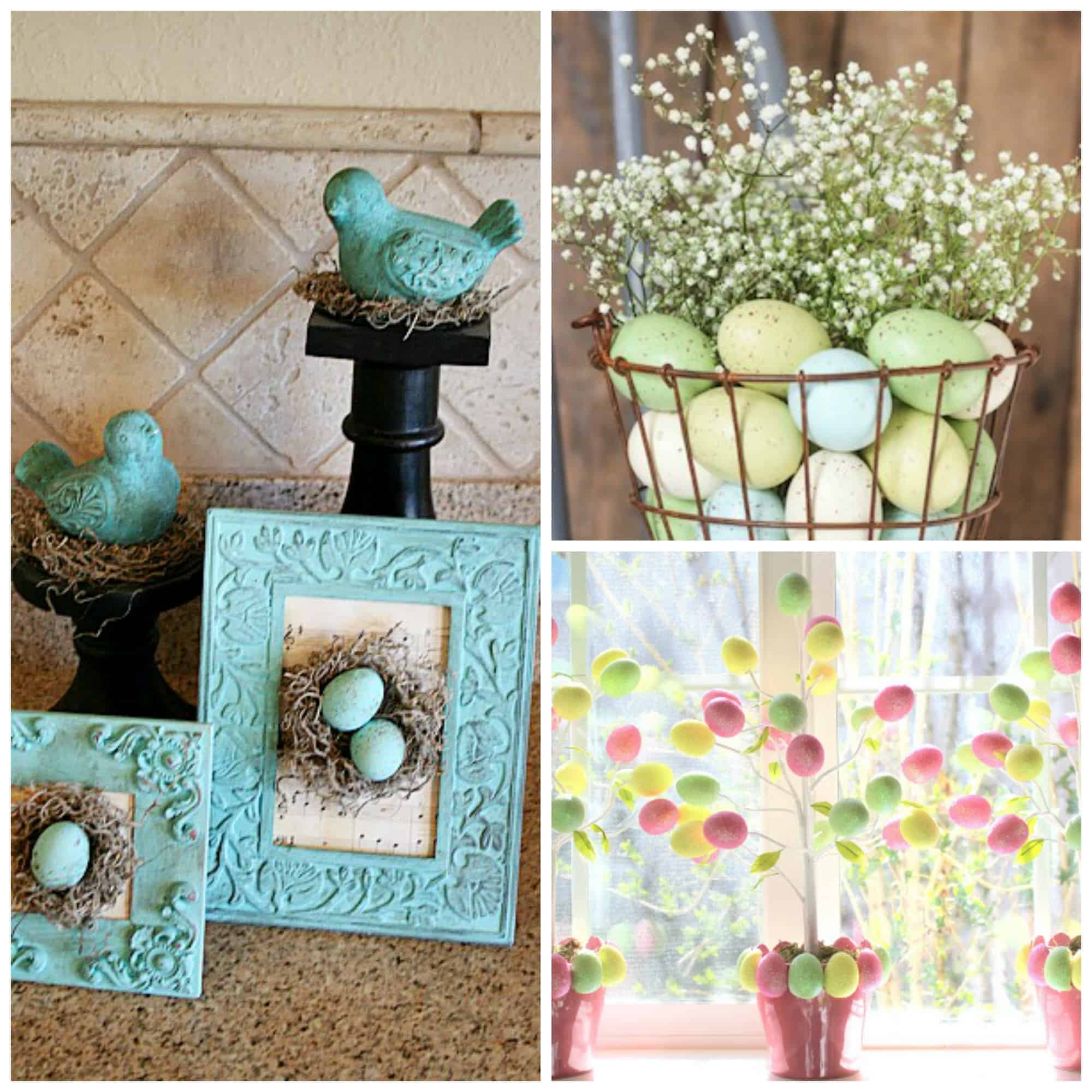 Dollar Store Easter Decor · Homebody