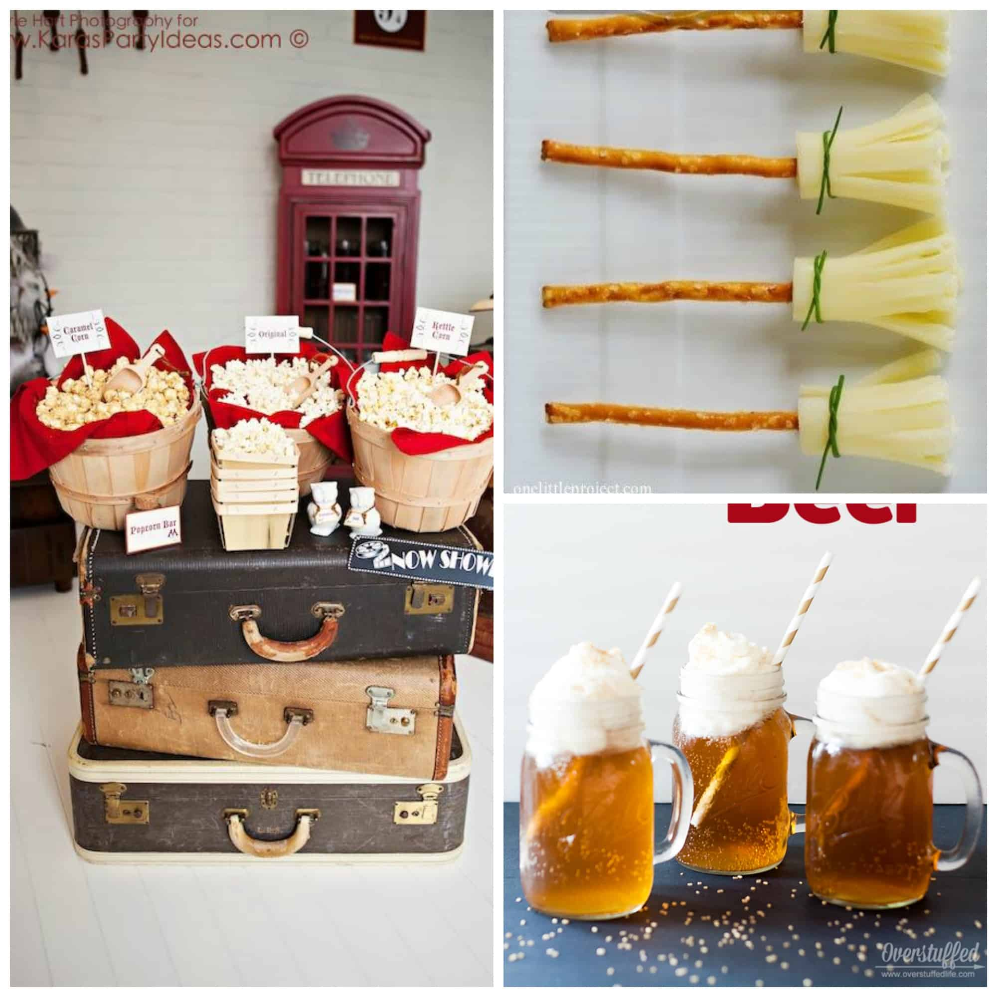 See many Harry Potter Party Ideas, Harry Potter food ideas, invitations, and more! #harrypotter #harrypotterparty #harrypotterpartyideas